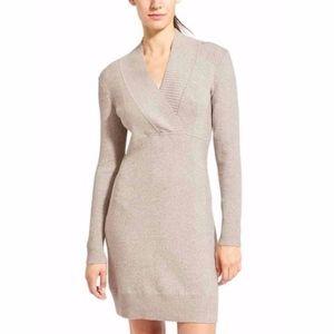 [Athleta] Gray Innsbrook Sweater Dress